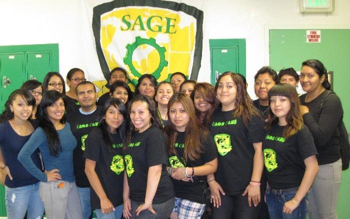 SAGE @ Belmont: These are our academy student leaders (sponsor teacher is Mr. Sosa Pineda)